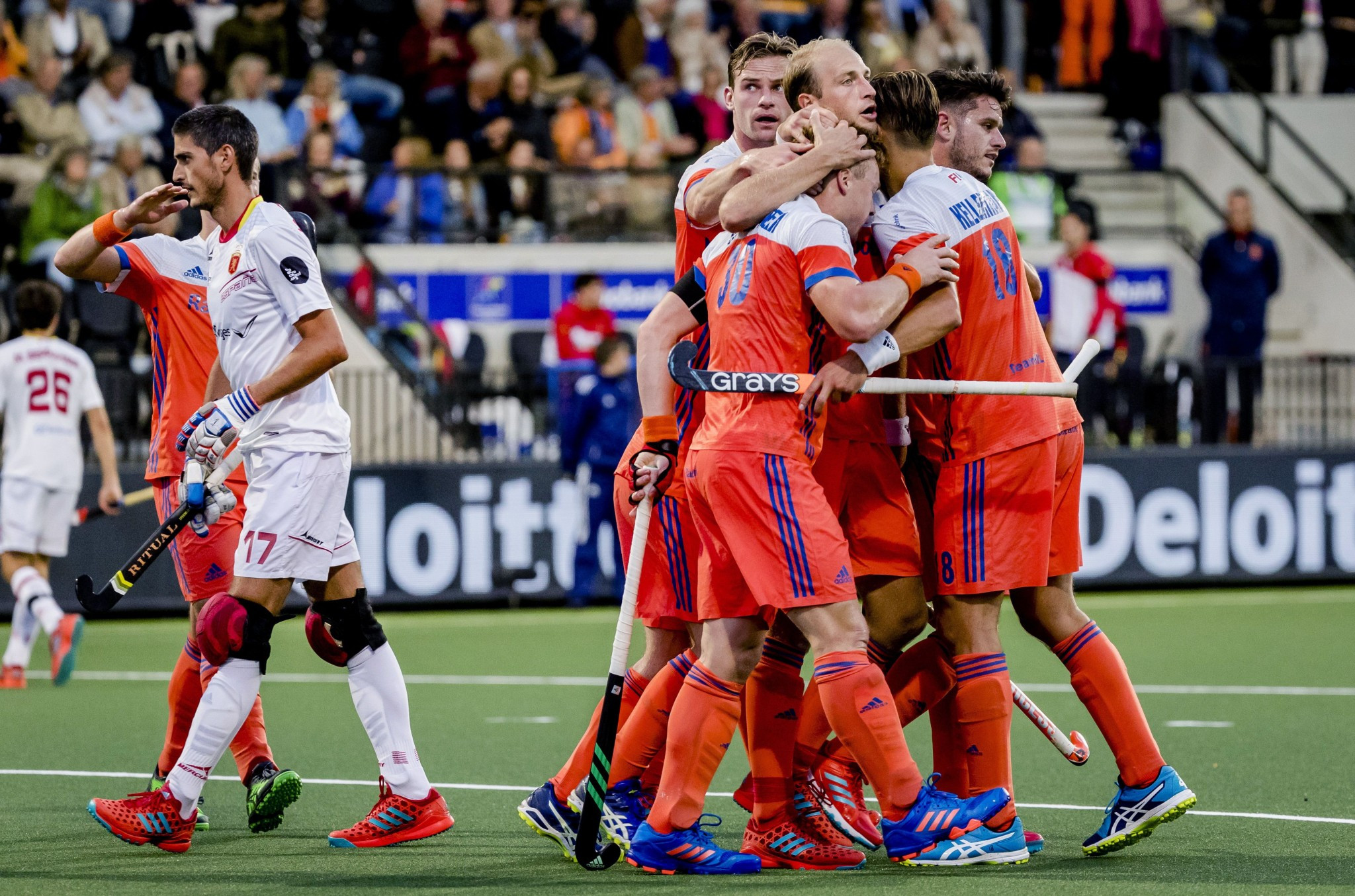 Dutch men start title defence at EuroHockey Championships with big win