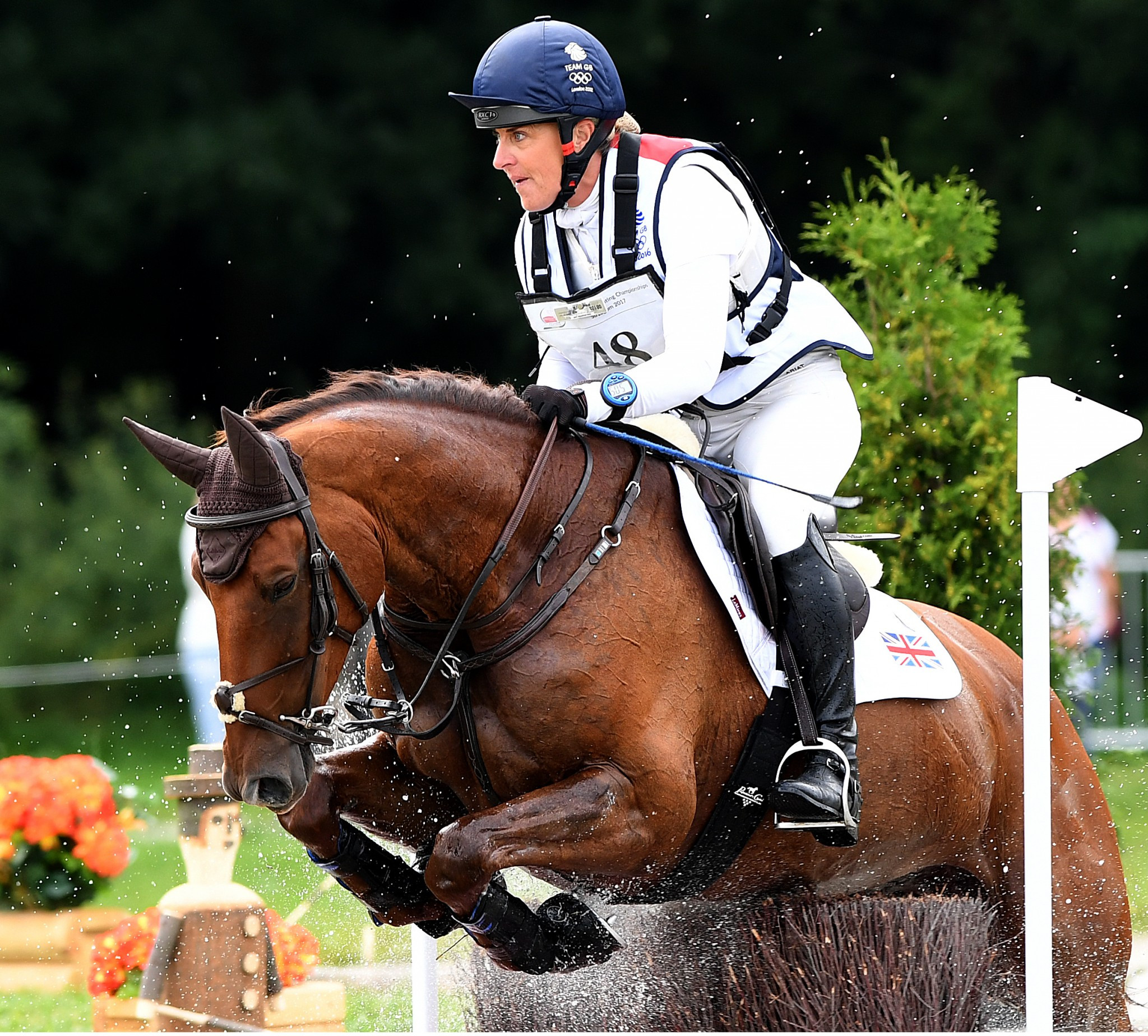 Britain take narrow lead at FEI European Eventing Championships