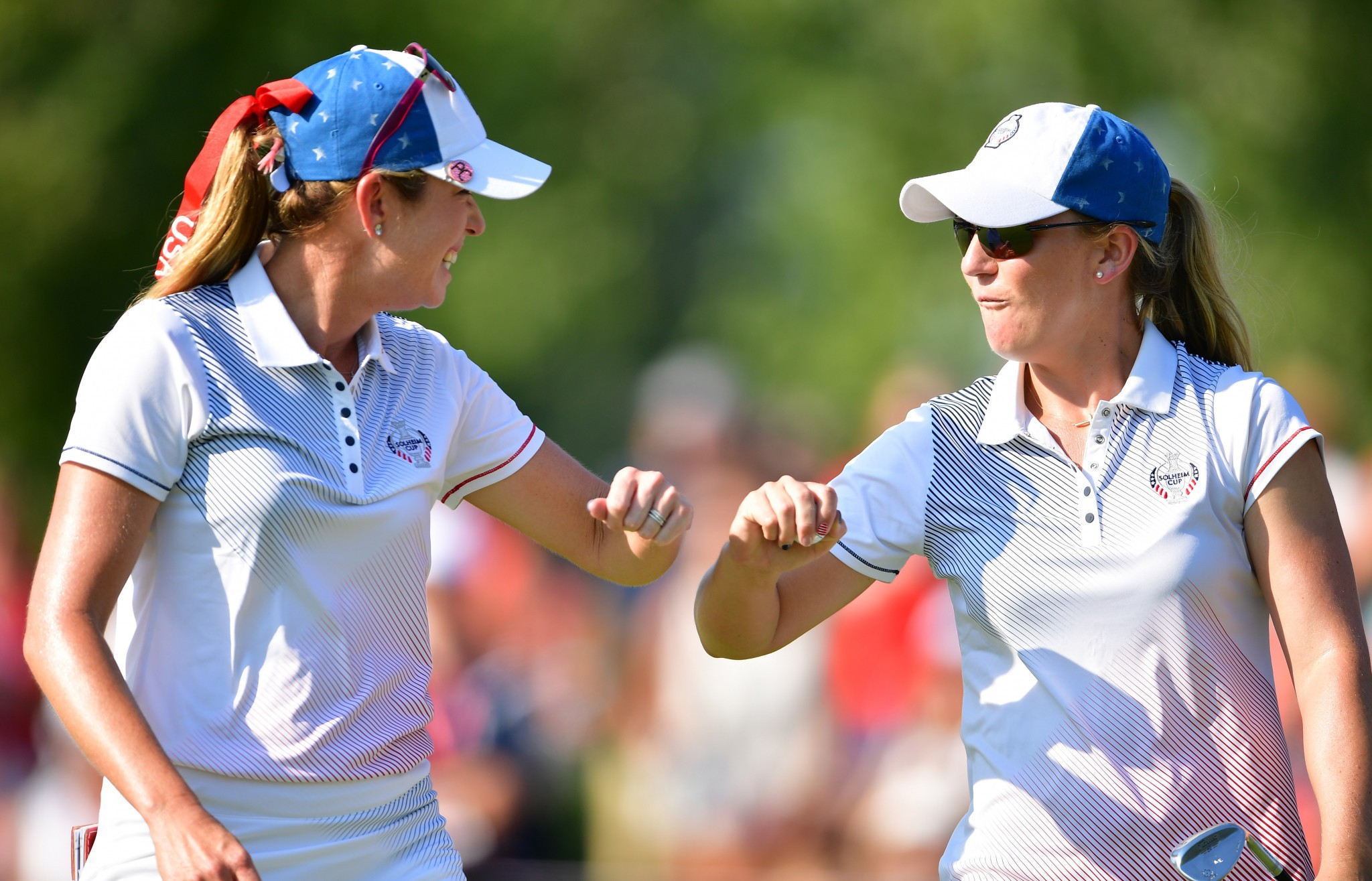 United States open up five-point lead going into final day of Solheim Cup