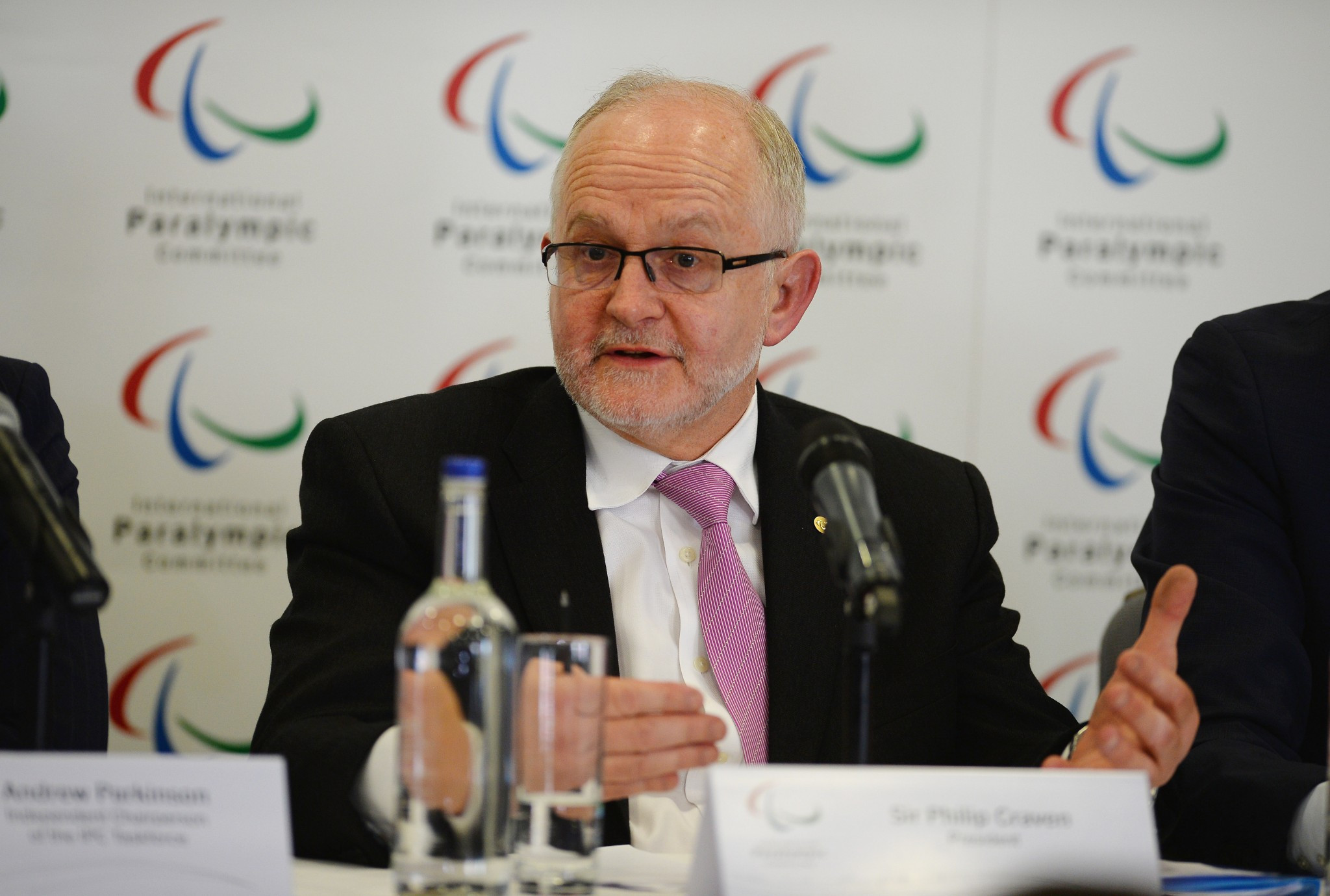 IPC President Sir Philip Craven warned in May that it would be