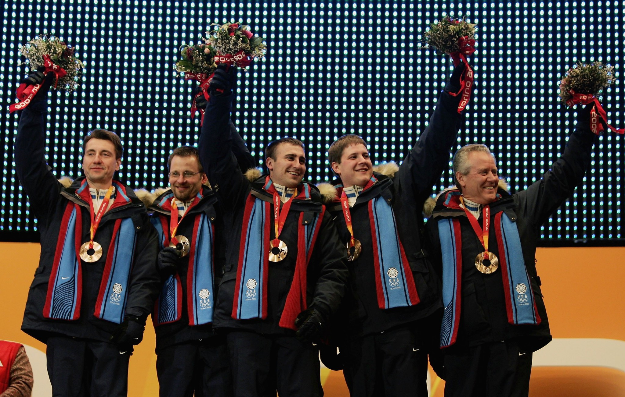 The United States' only Winter Olympic curling medal came in men's competition at Turin 2006 ©Getty Images