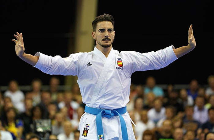 Spain's Damián Quintero remains top of the WKF world rankings on the back of some strong performances in recent months ©WKF