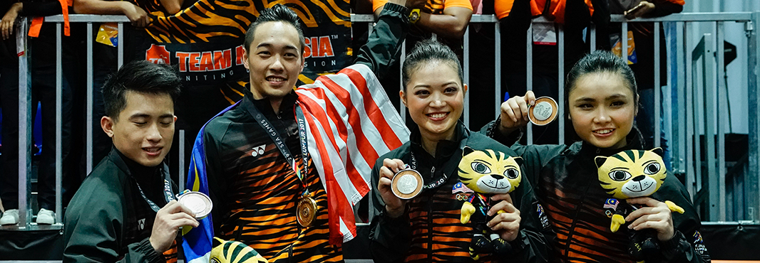 Hosts Malaysia dominate first day of wushu competition at South East Asian Games