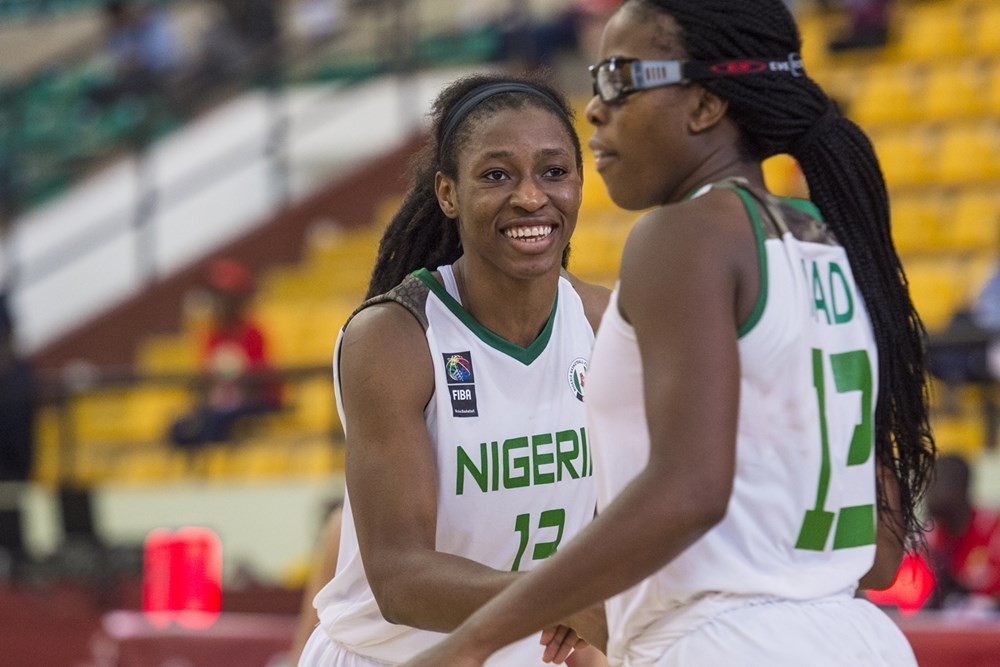 After securing a third win in as many games, Nigeria have made the 2017 Women's AfroBasket quarter-finals ©FIBA