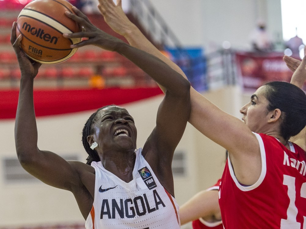 Angola have also qualified for the quarter-finals after beating Tunisia ©FIBA