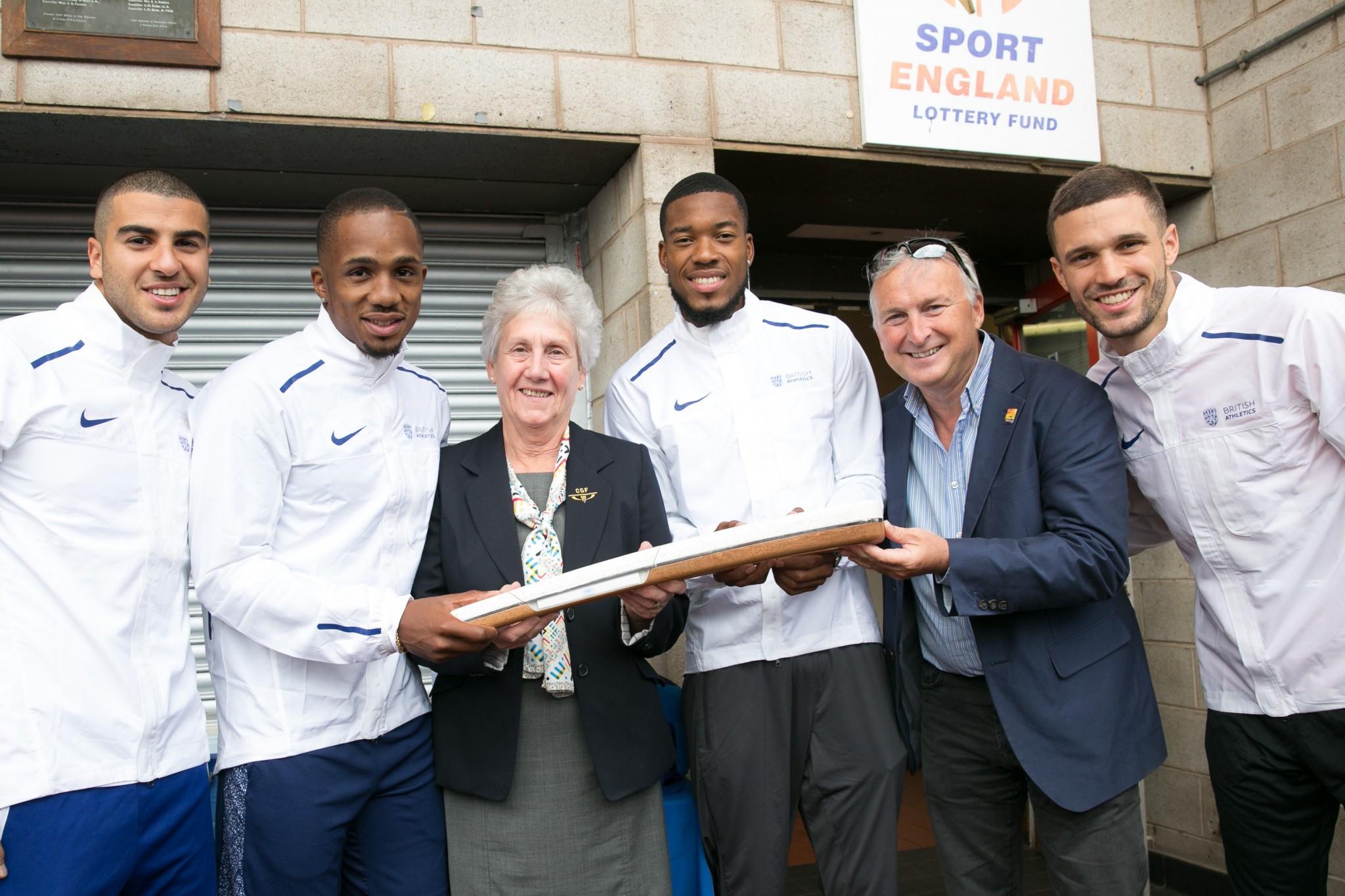 Queen's Baton Relay passes through 2022 Commonwealth Games bidding city Birmingham