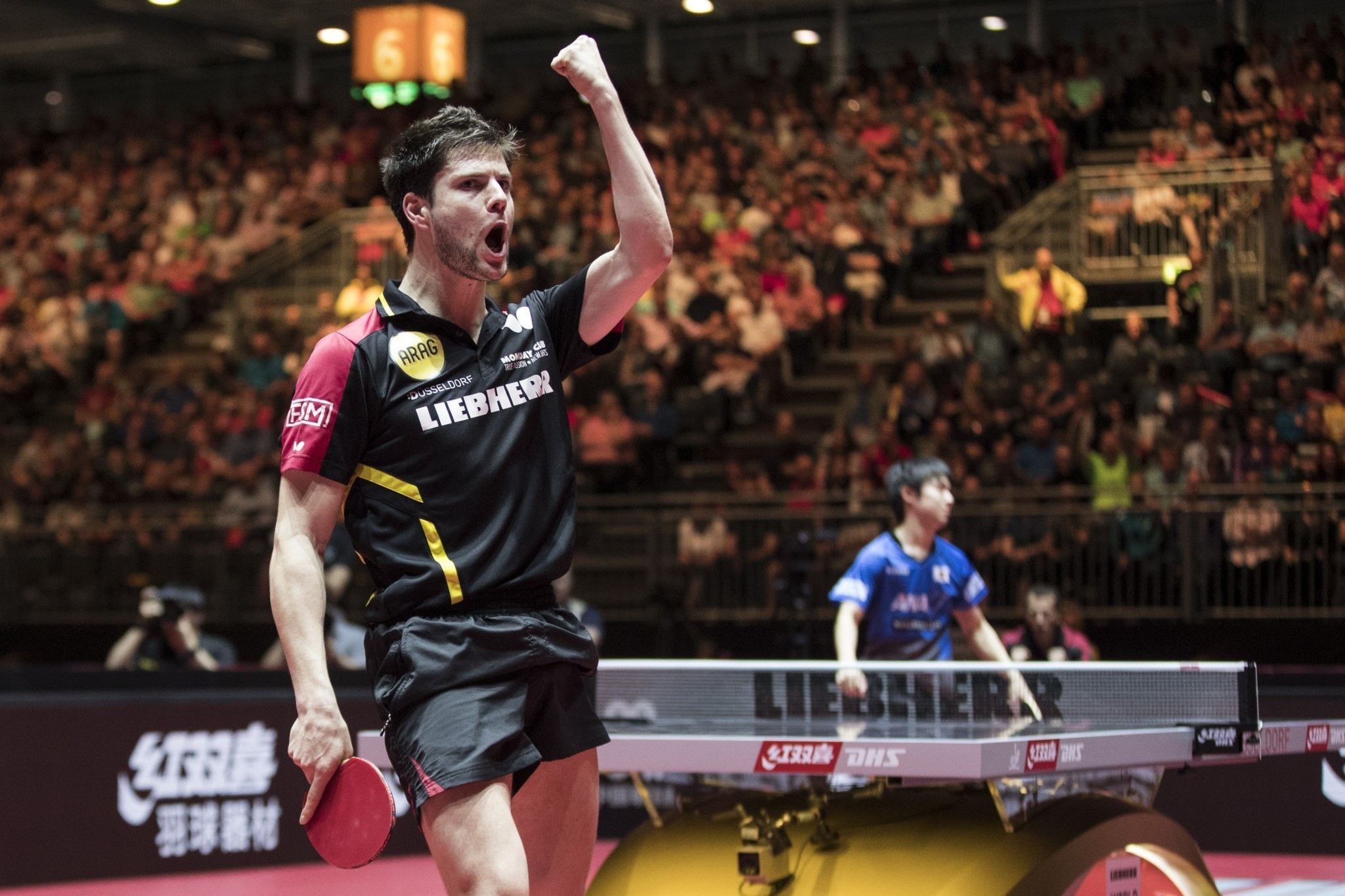 Top seed Dmitrij Ovtcharov of Germany triumphed at the ITTF Bulgaria Open ©ITTF