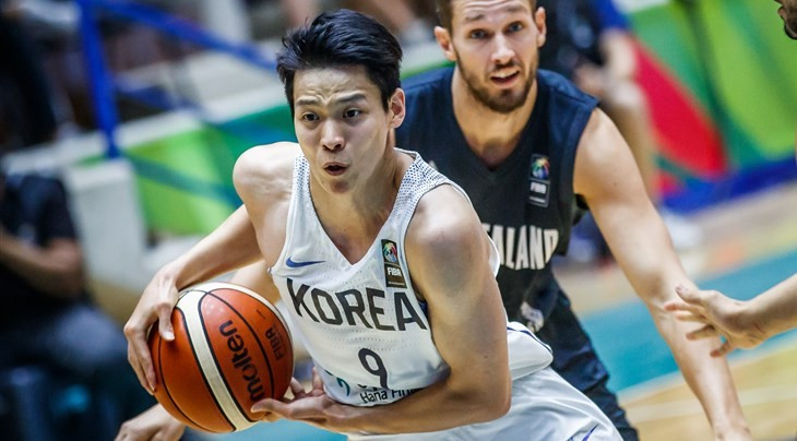 South Korea claimed the bronze medal with an 80-71 victory over New Zealand ©FIBA