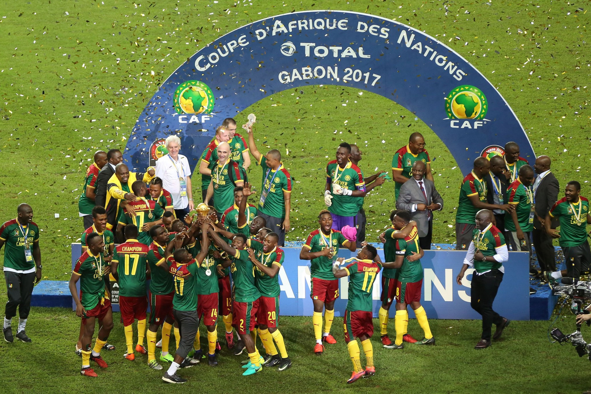 Cameroon could still lose the hosting rights for the 2019 Africa Cup of Nations ©Getty Images