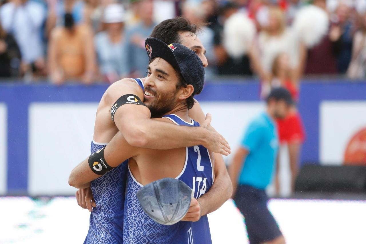 Nicolai and Lupo secure third Beach Volleyball European Championships title