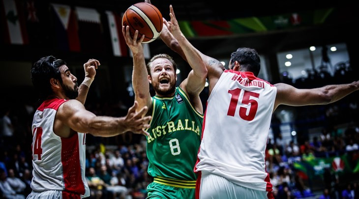 Australia clinched the 2017 International Basketball Federation Asia Cup title this evening with a 79-56 win over Iran in Lebanon ©FIBA