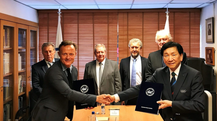 AIBA has signed an MoU with the International School Sport Federation ©AIBA