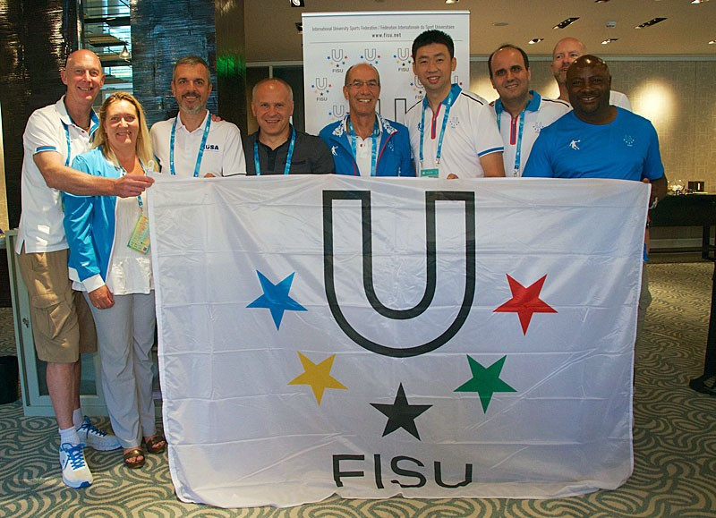FISU's Committee for the Development of University Sport met with continental bodies ©FISU