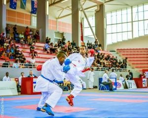 Karateka says FASANOC courses have helped his Tokyo 2020 preparations