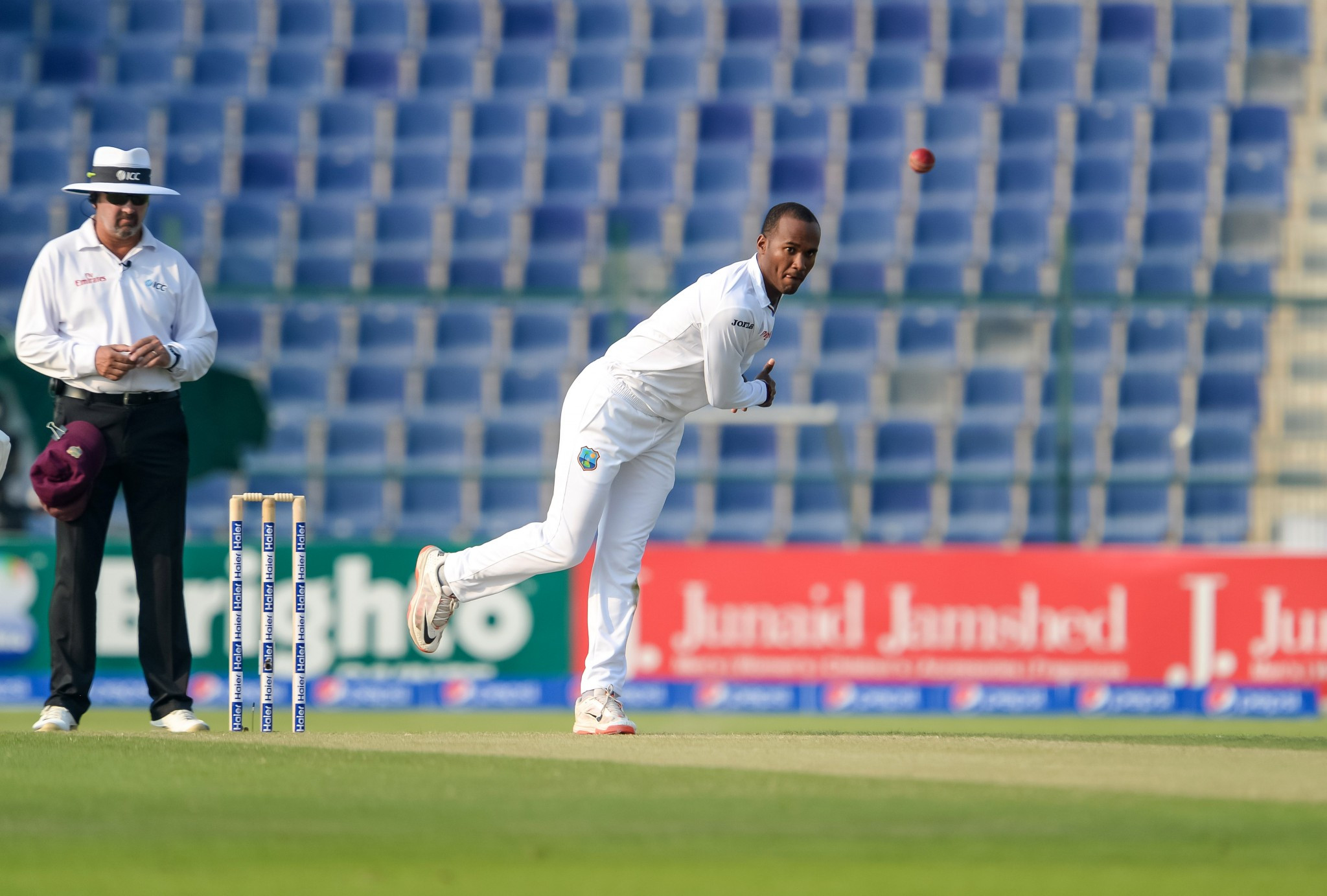 West Indies' Brathwaite reported for suspect action