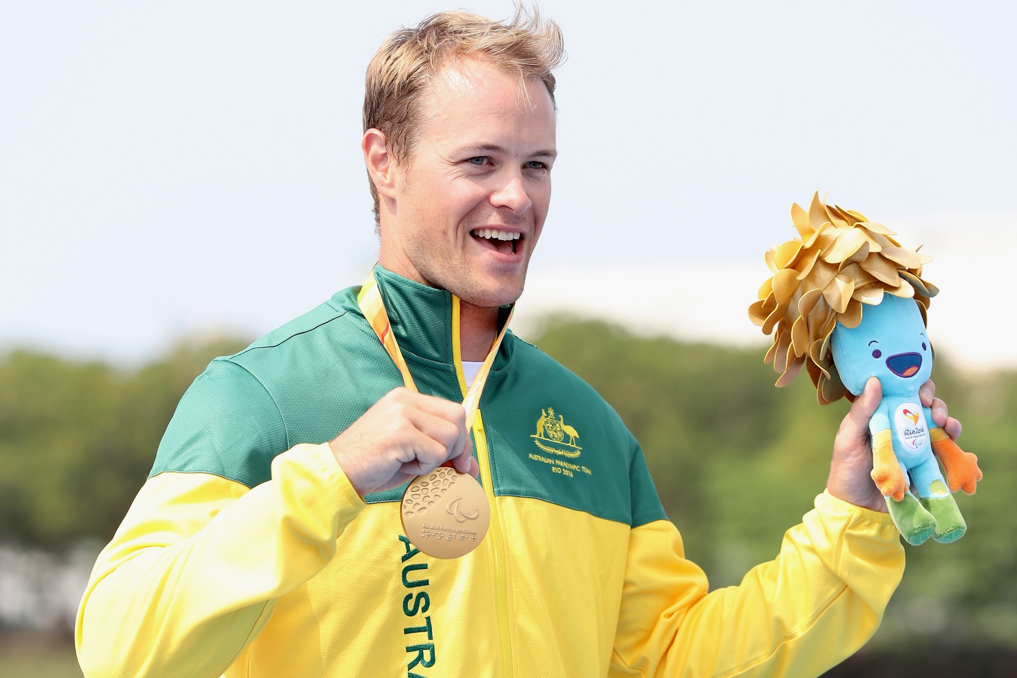 Curtis McGrath has the opportunity to win two gold medals in Tokyo if he is selected for the team ©Getty Images