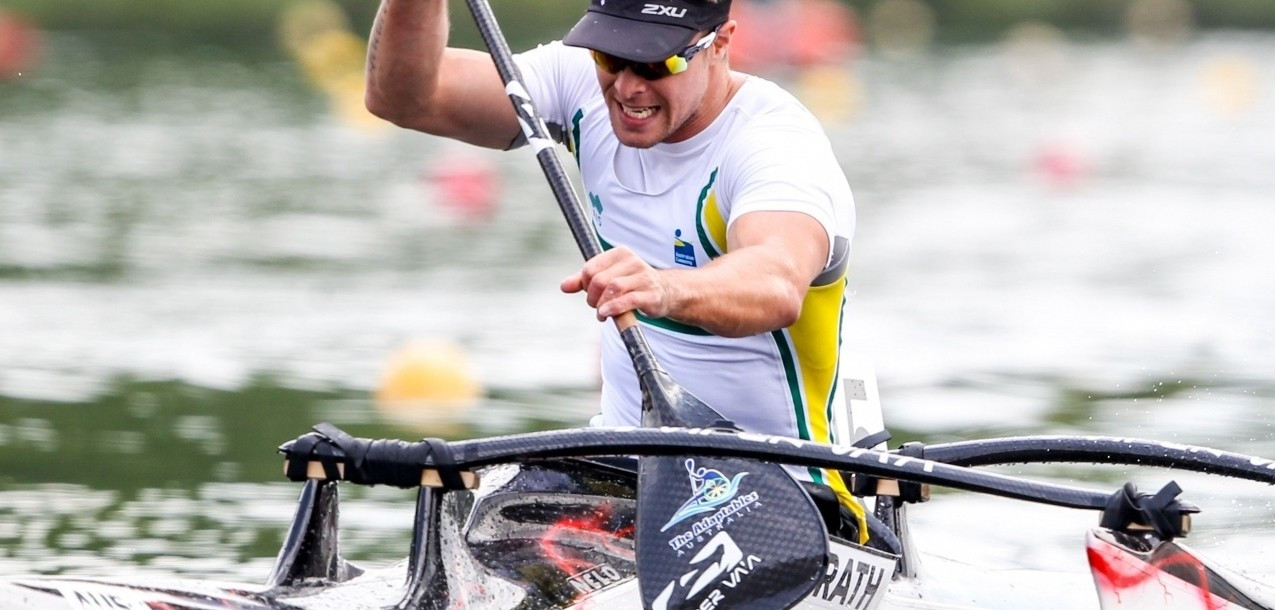 Australia's McGrath feeling in good shape for ICF Para-canoe World Championships