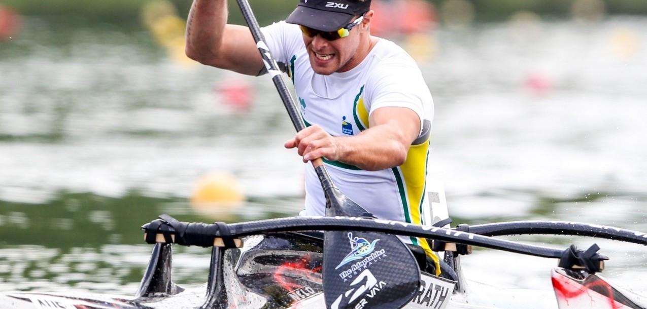 Australia's McGrath feeling in good shape for ICF Para-canoe World Championships