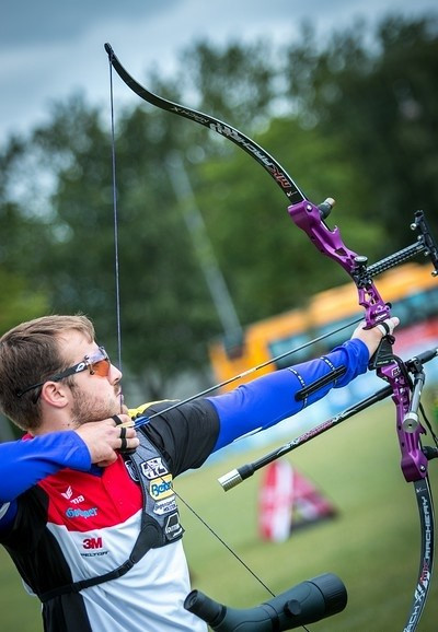 Germany's Florian Kahllund earned one of the final two Rio 2016 quota places in the men's competition ©World Archery