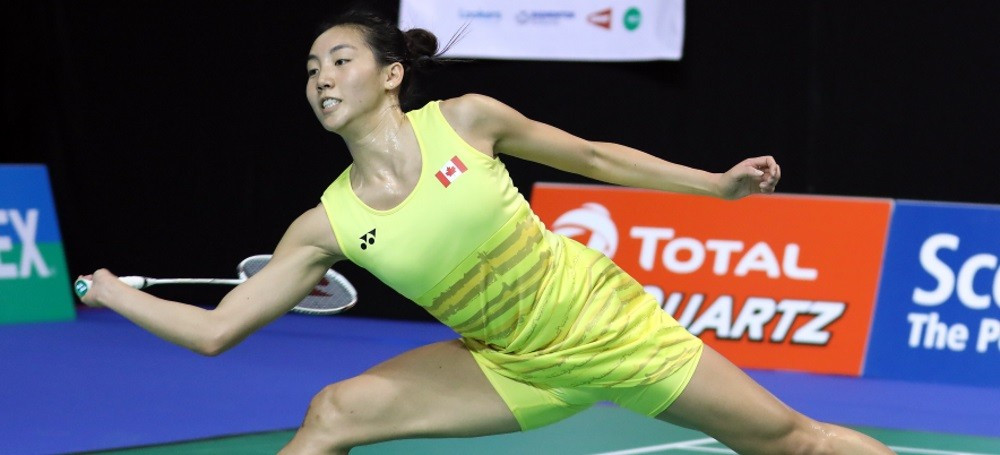 Canada's Li comes through tough opening test at BWF World Championships
