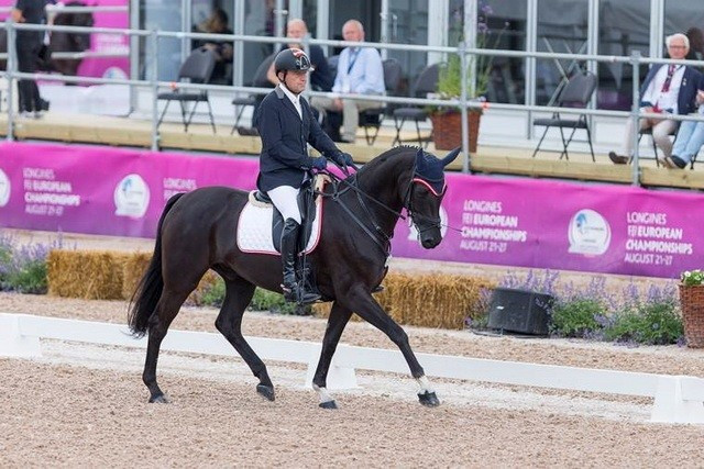 Pepo Puch of Austria was the only non-British or Dutch winner today ©FEI