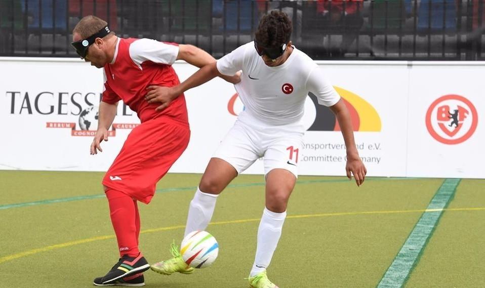 Turkey back to winning ways at IBSA European Football Championships