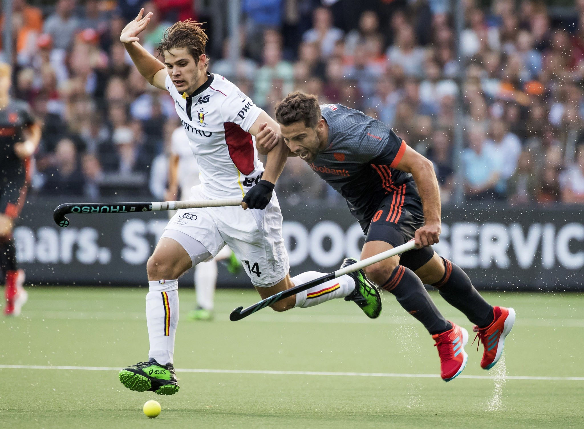 Belgium thrash hosts at EuroHockey Championships