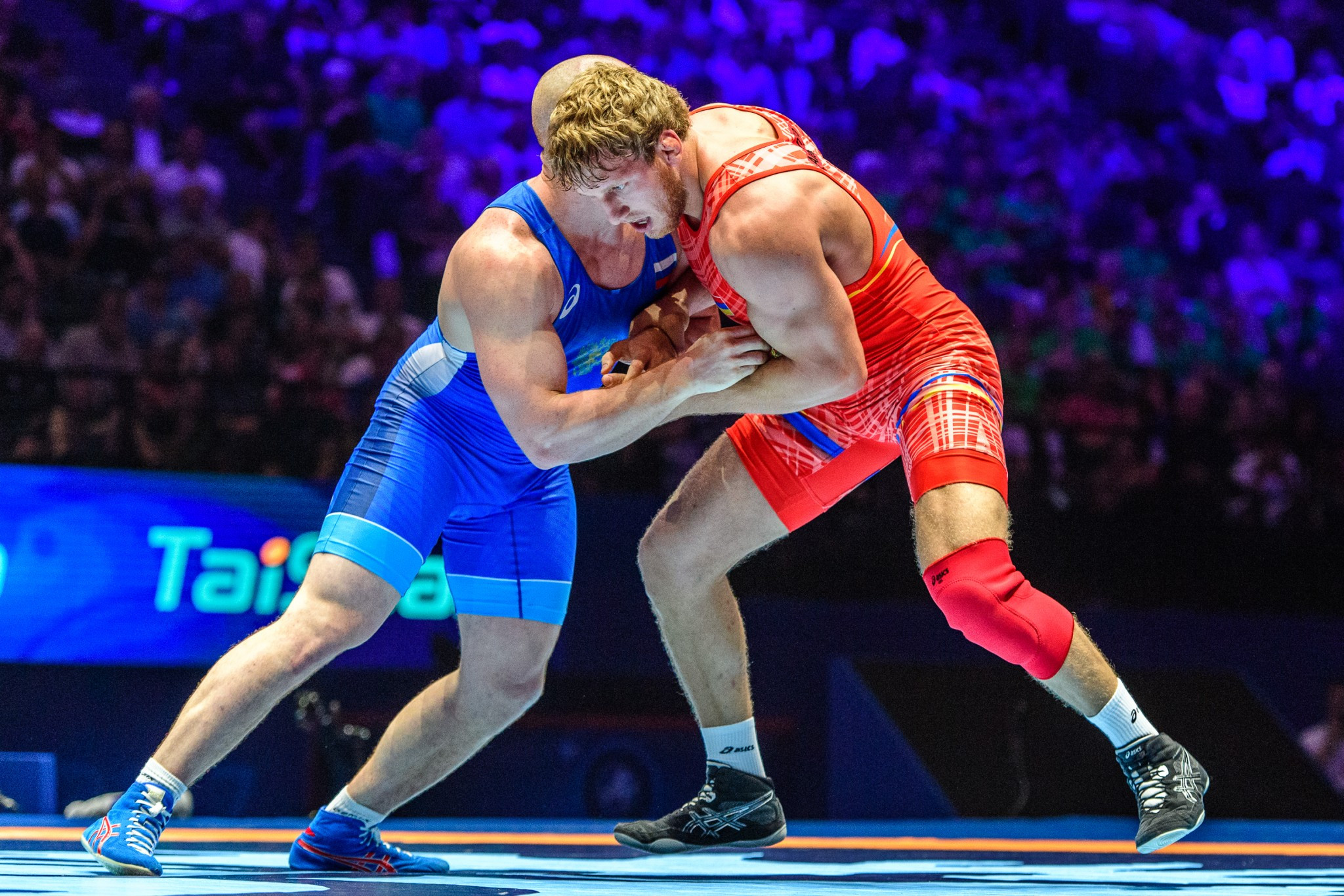 The Armenian Olympic champion proved too strong for Russian Musa Evloev in the 98kg final ©UWW
