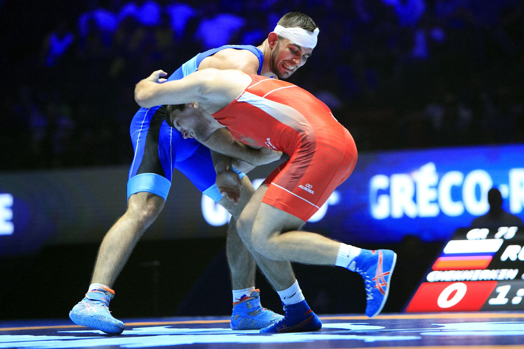 Serbian Viktor Nemes became the second athlete from his country to win a world wrestling title as he claimed gold in the 75kg event ©UWW