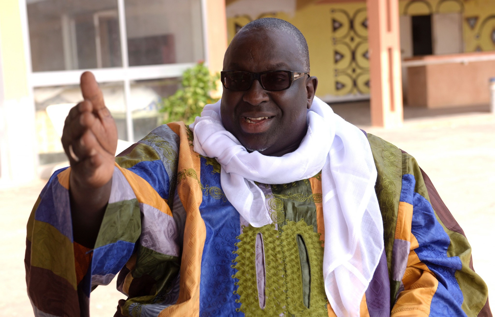 Papa Massata Diack will also remain banned for life from any involvement in athletics ©Getty Images
