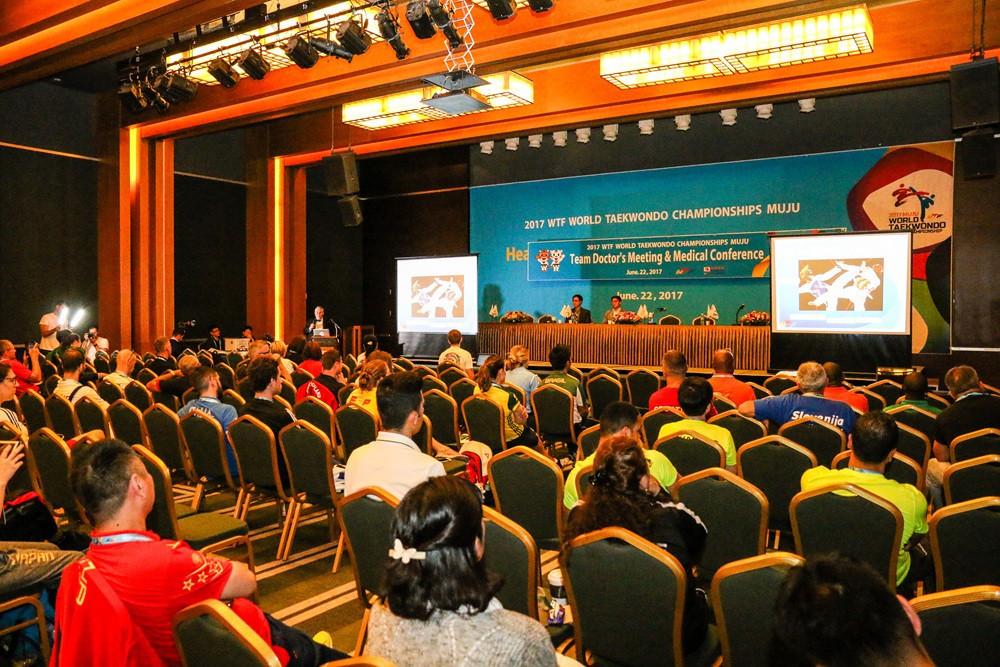 Choue praises impact of World Taekwondo Medical Conference