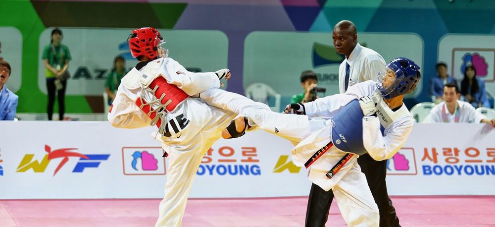 Cadet athletes are aged between 12 and 14 ©World Taekwondo