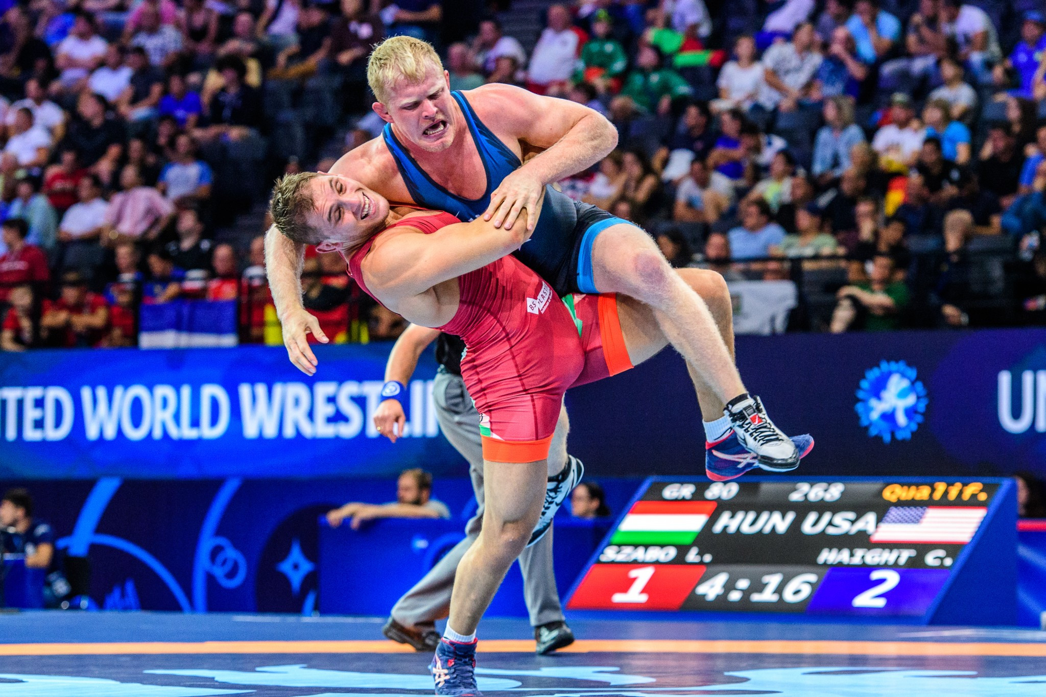 UWW Wrestling World Championships 2017: Day two of competition