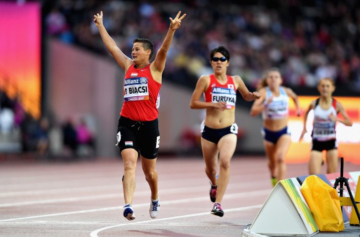 Zhang Haidi wants to build on the record-breaking levels of interest shown by spectators during the World Para Athletics Championships in London ©Getty Images