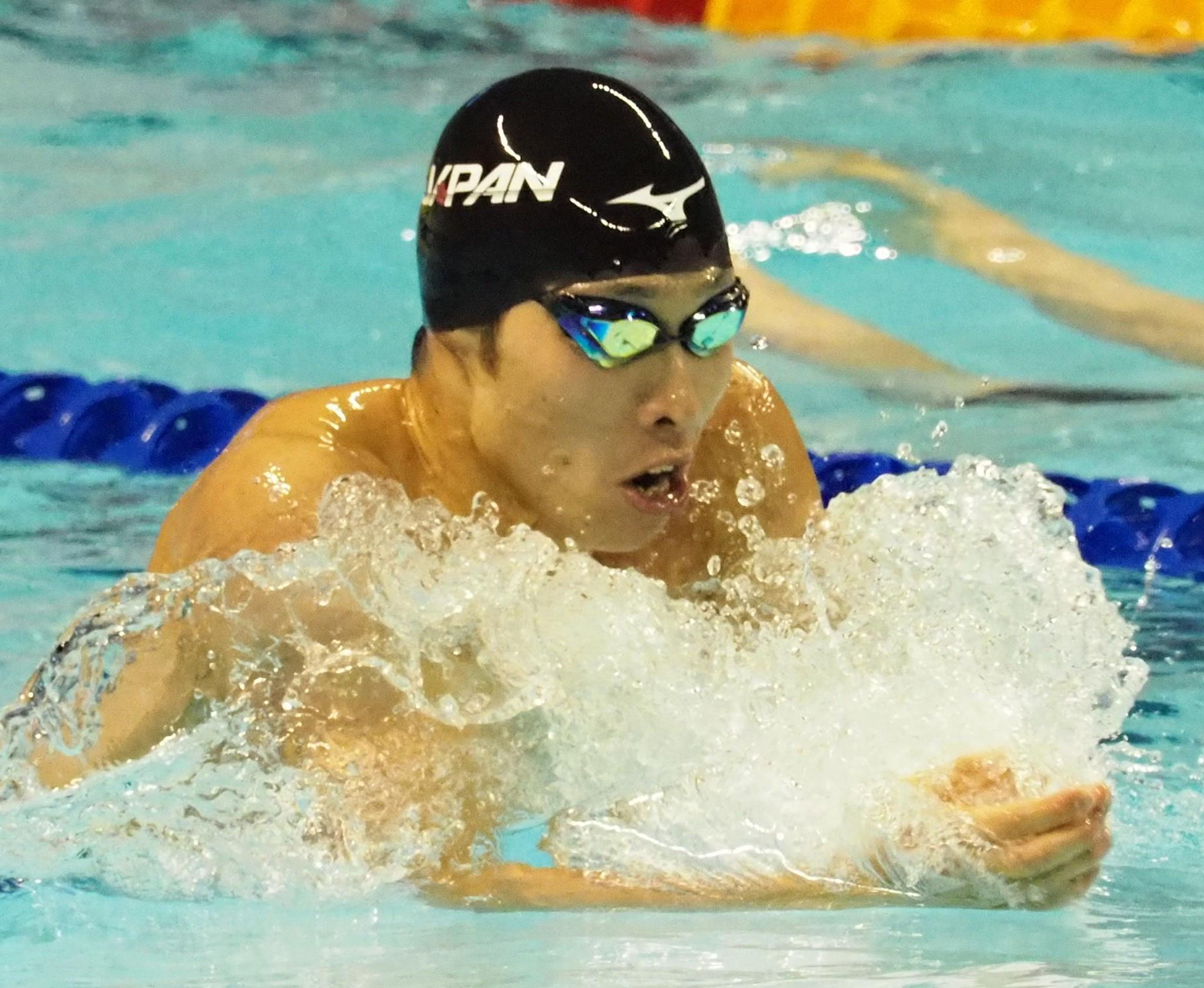 Japan enjoy double swimming success on day three of Taipei 2017