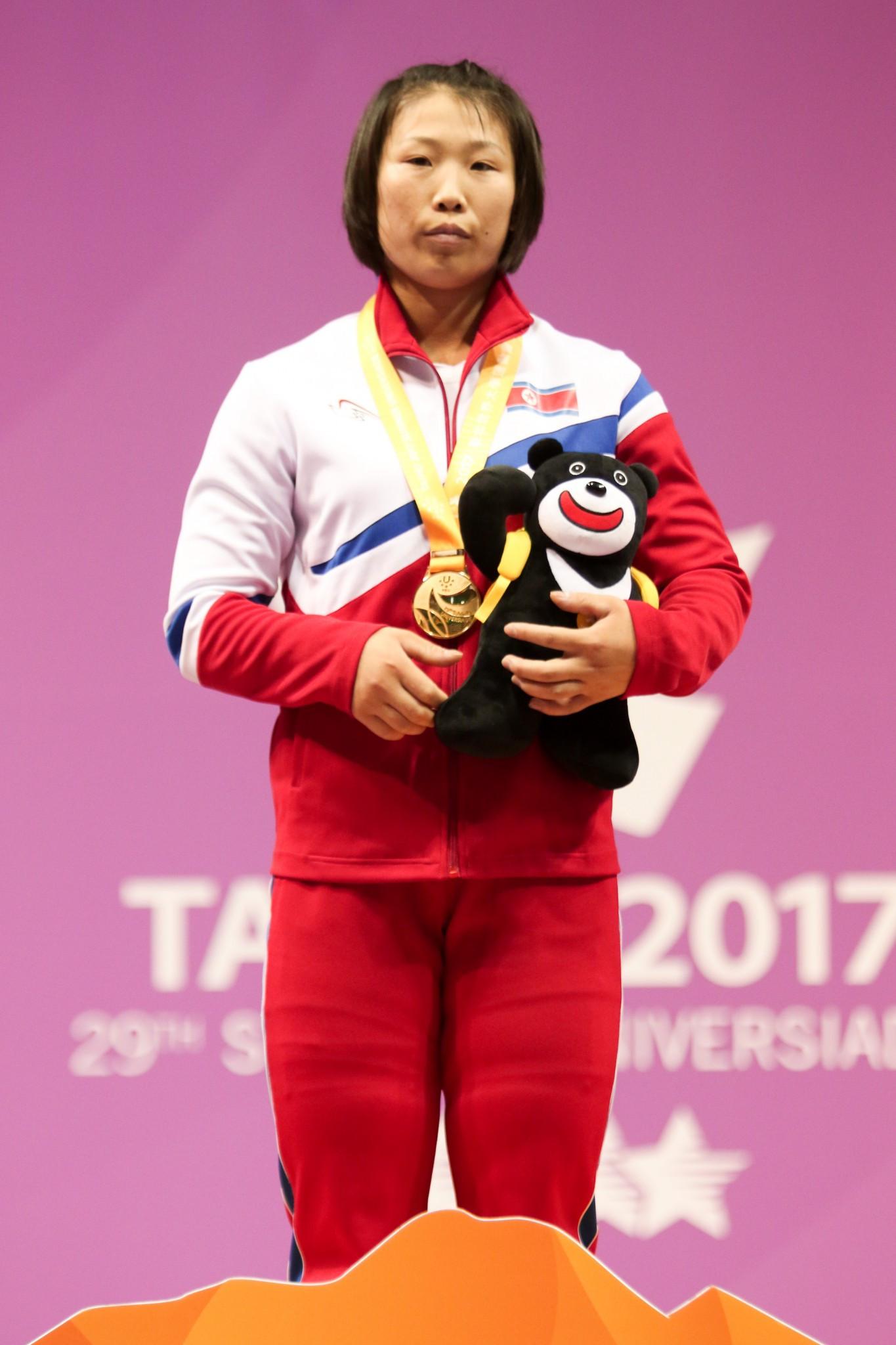 North Korean weightlifting dominance continues at Taipei 2017
