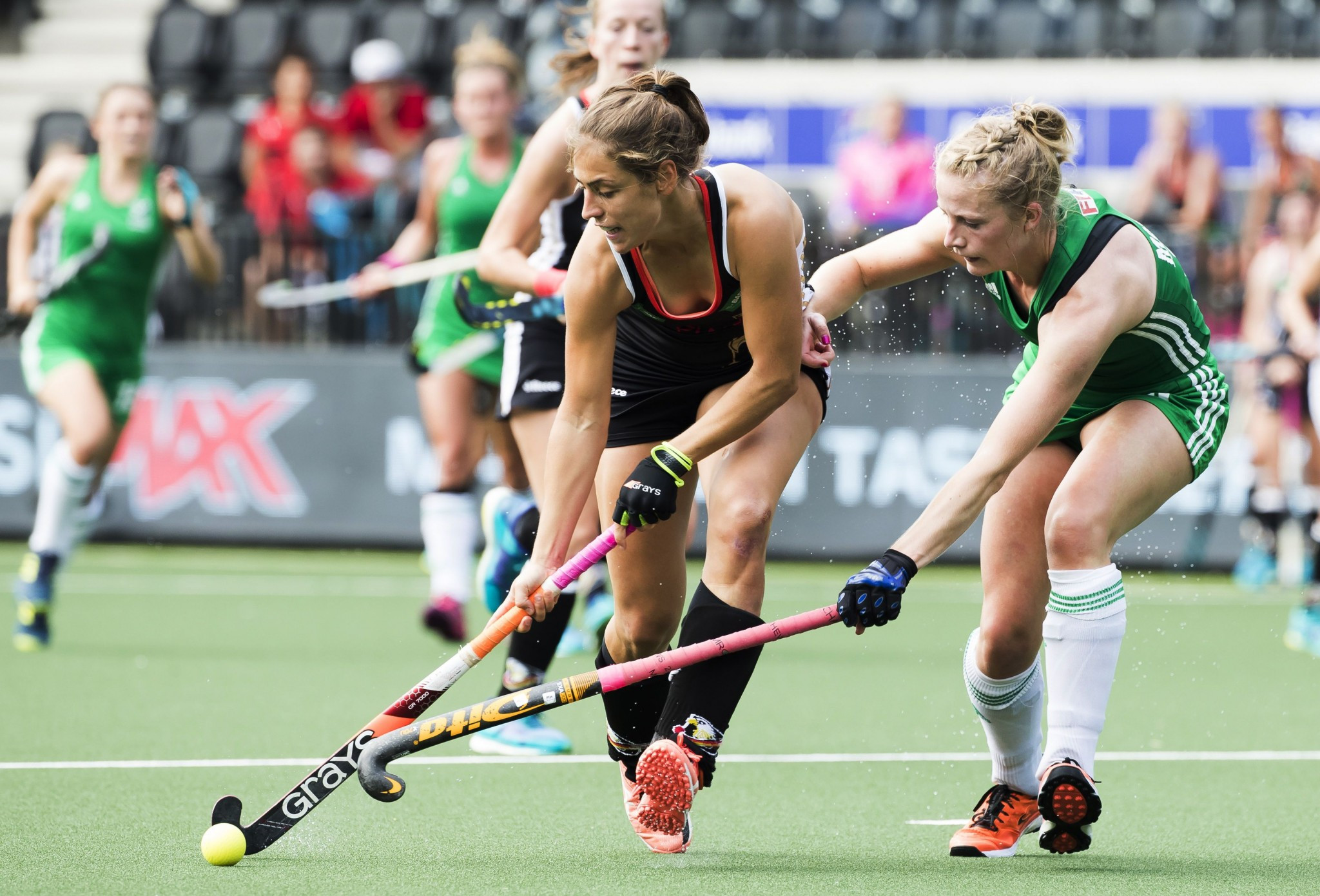 Germany secured top spot in Pool B with a 5-1 victory over Ireland ©Getty Images