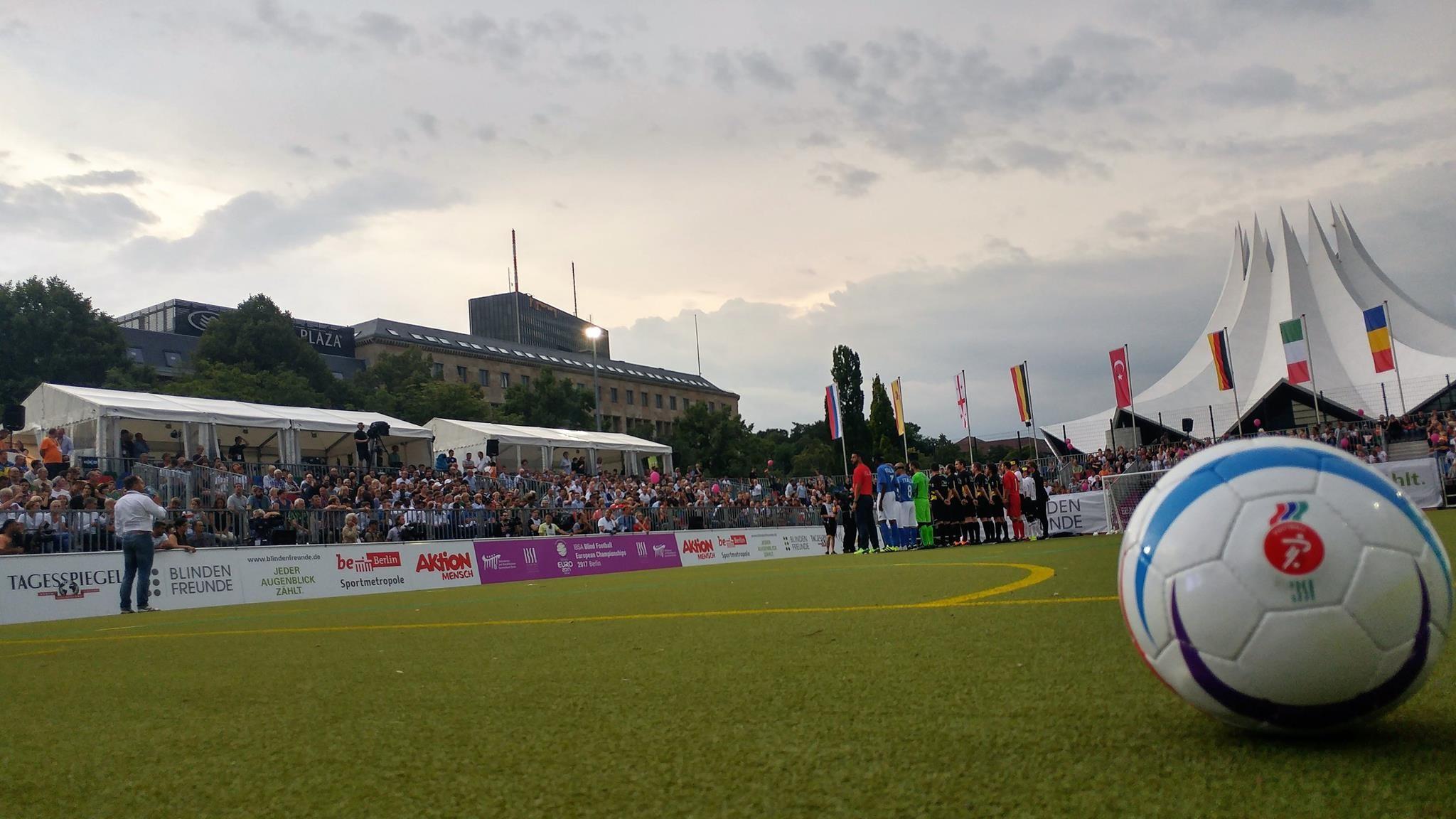 Russia thrash Georgia at IBSA European Football Championships