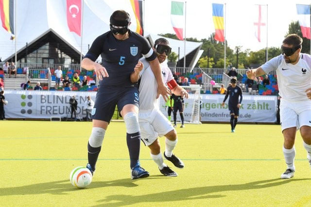 England maintained their good form with another win ©Paralympics GB/Twitter