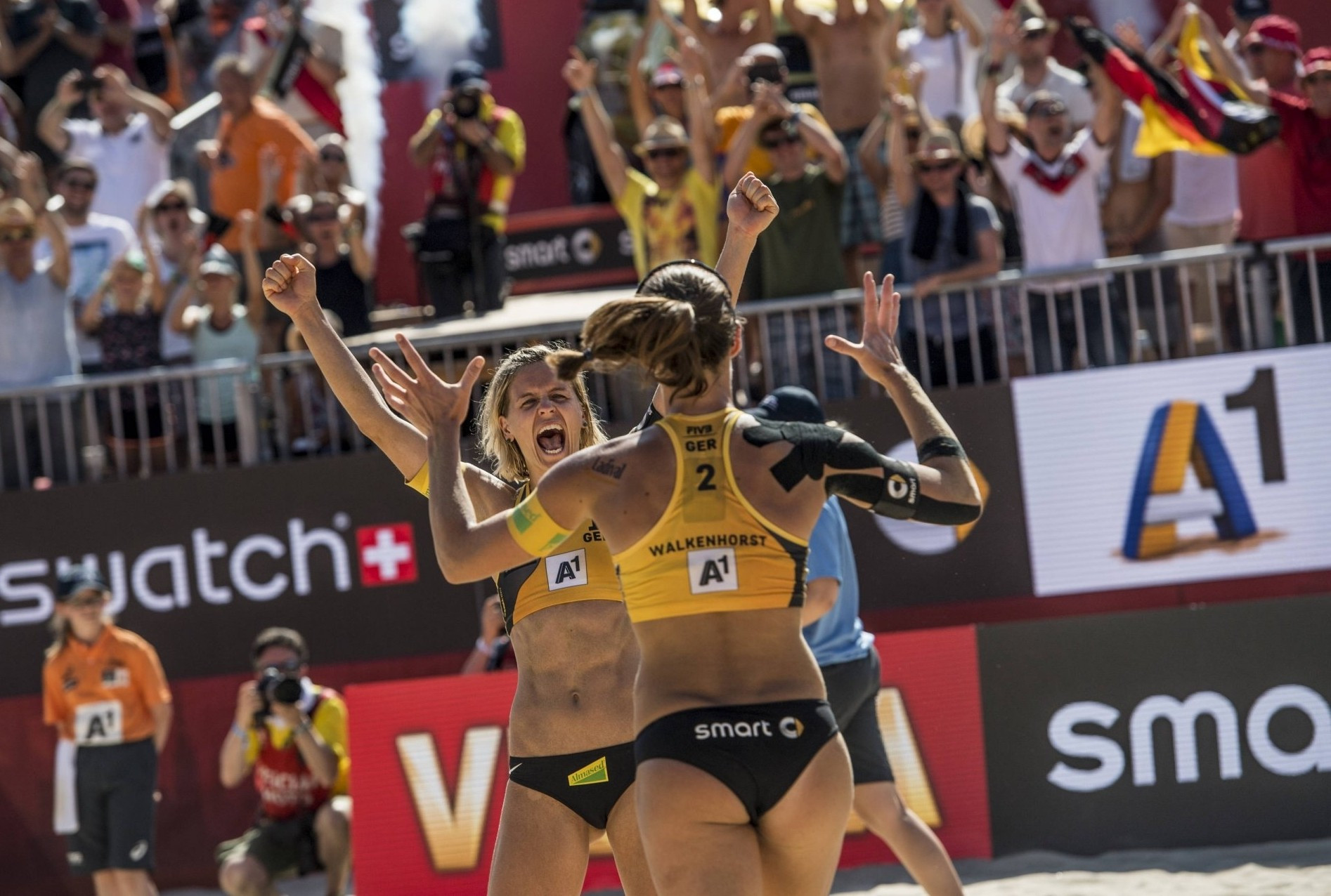 German duo looking to defend crown at FIVB Beach World Tour Finals