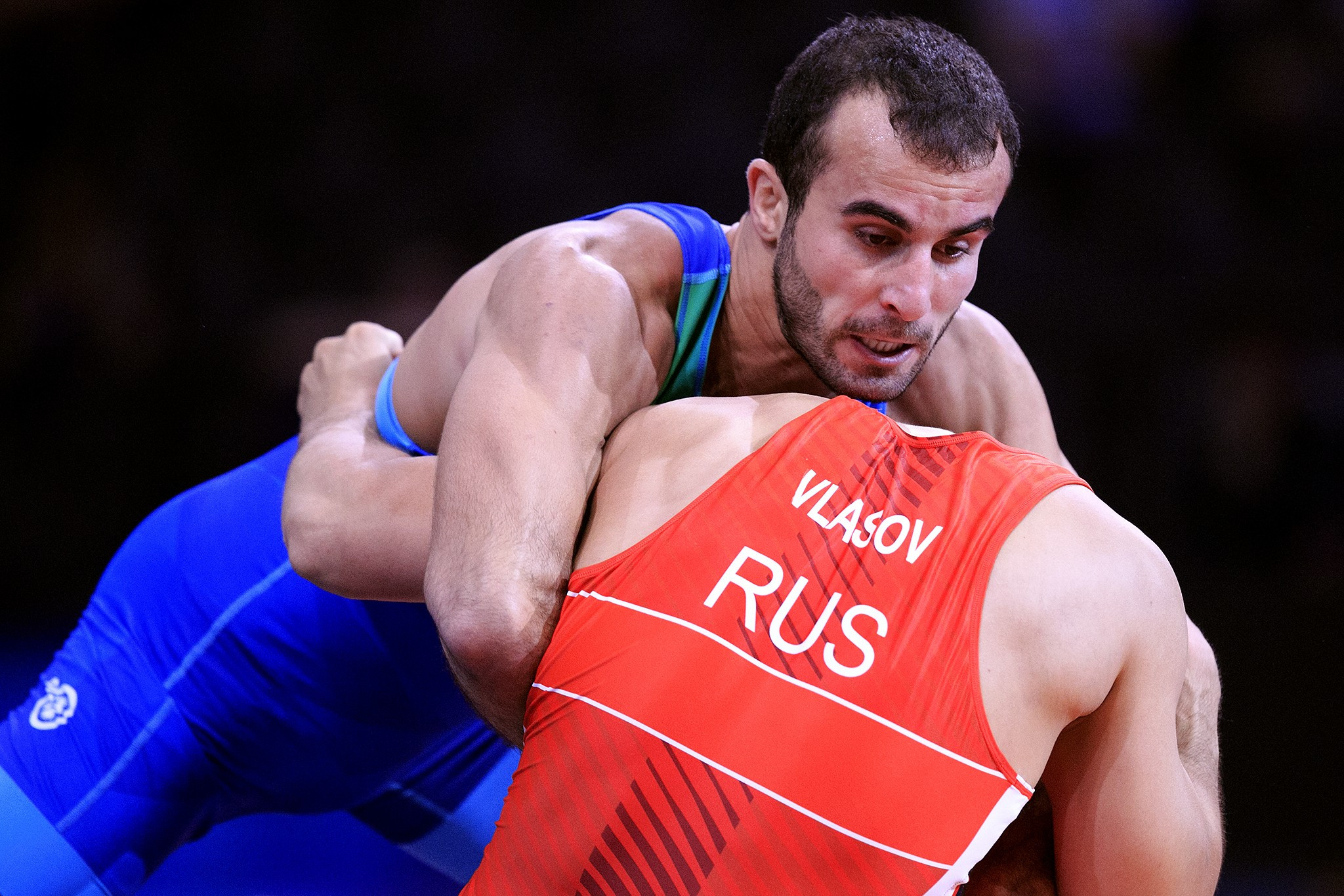 Two-time Olympic champion Roman Vlasov of Russia was among the high-profile casualties in the preliminary round ©UWW