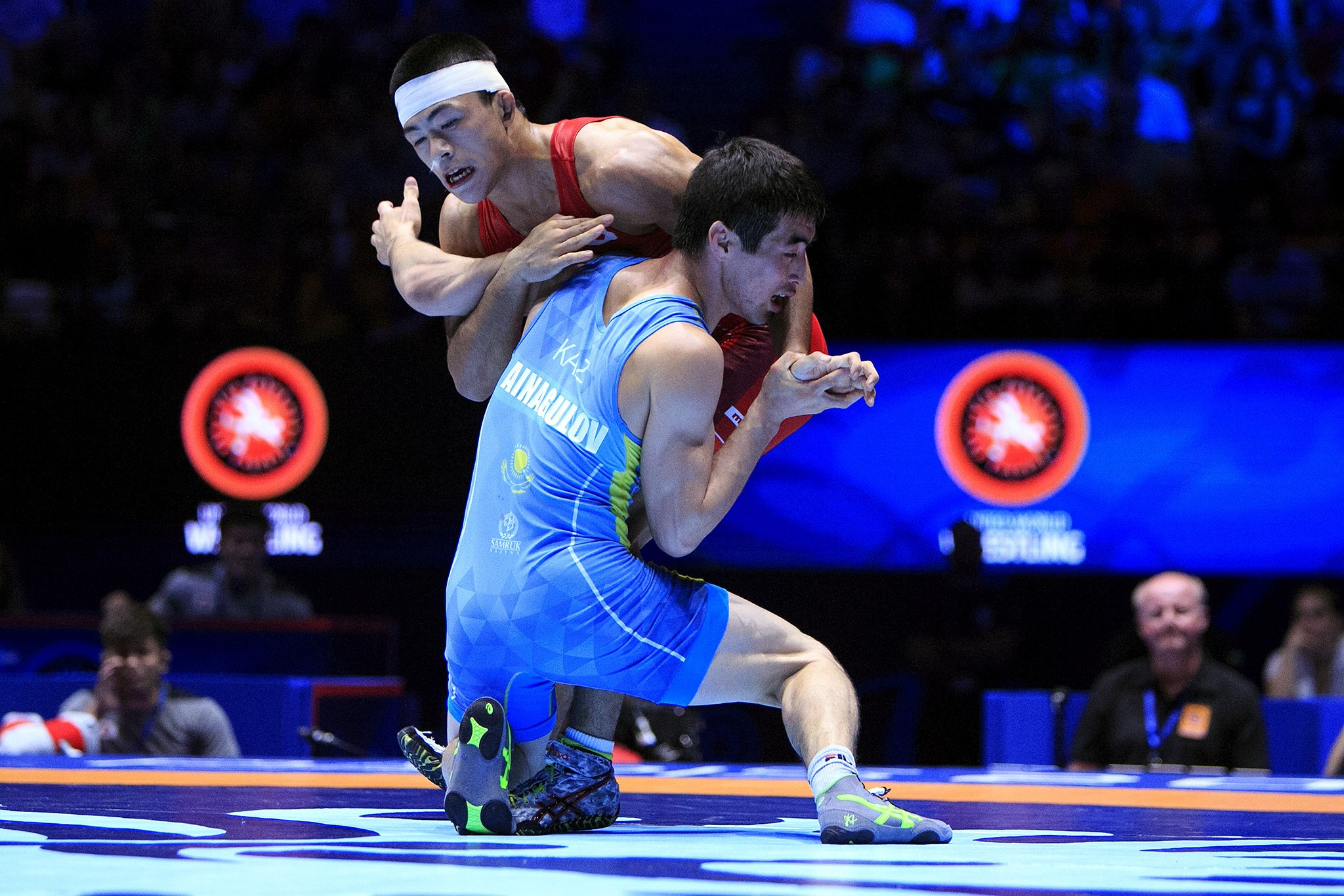 Japan's Kenichiro Fumita won the men's 59kg category ©UWW