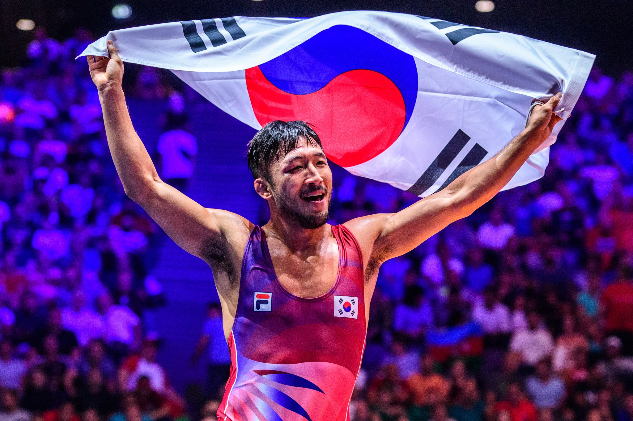 Ryu was in fine form as he returned to the top of the World Championships podium after a four-year hiatus ©UWW