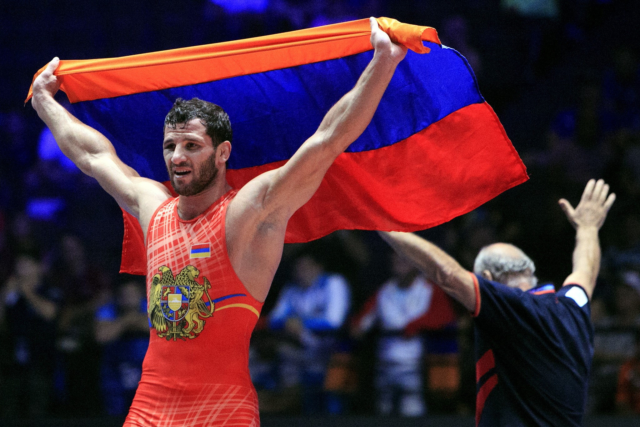 Manukyan's triumph handed Armenia their second gold medal of the Championships ©UWW