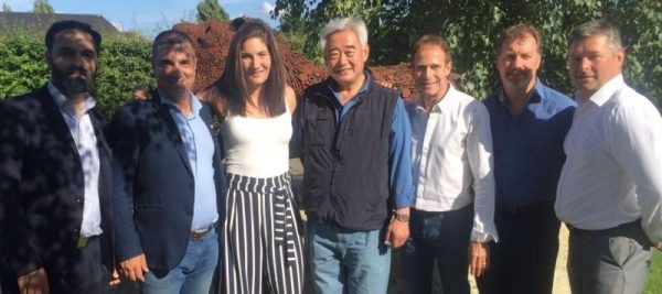 Choue meets with British Taekwondo Board to discuss growth of sport
