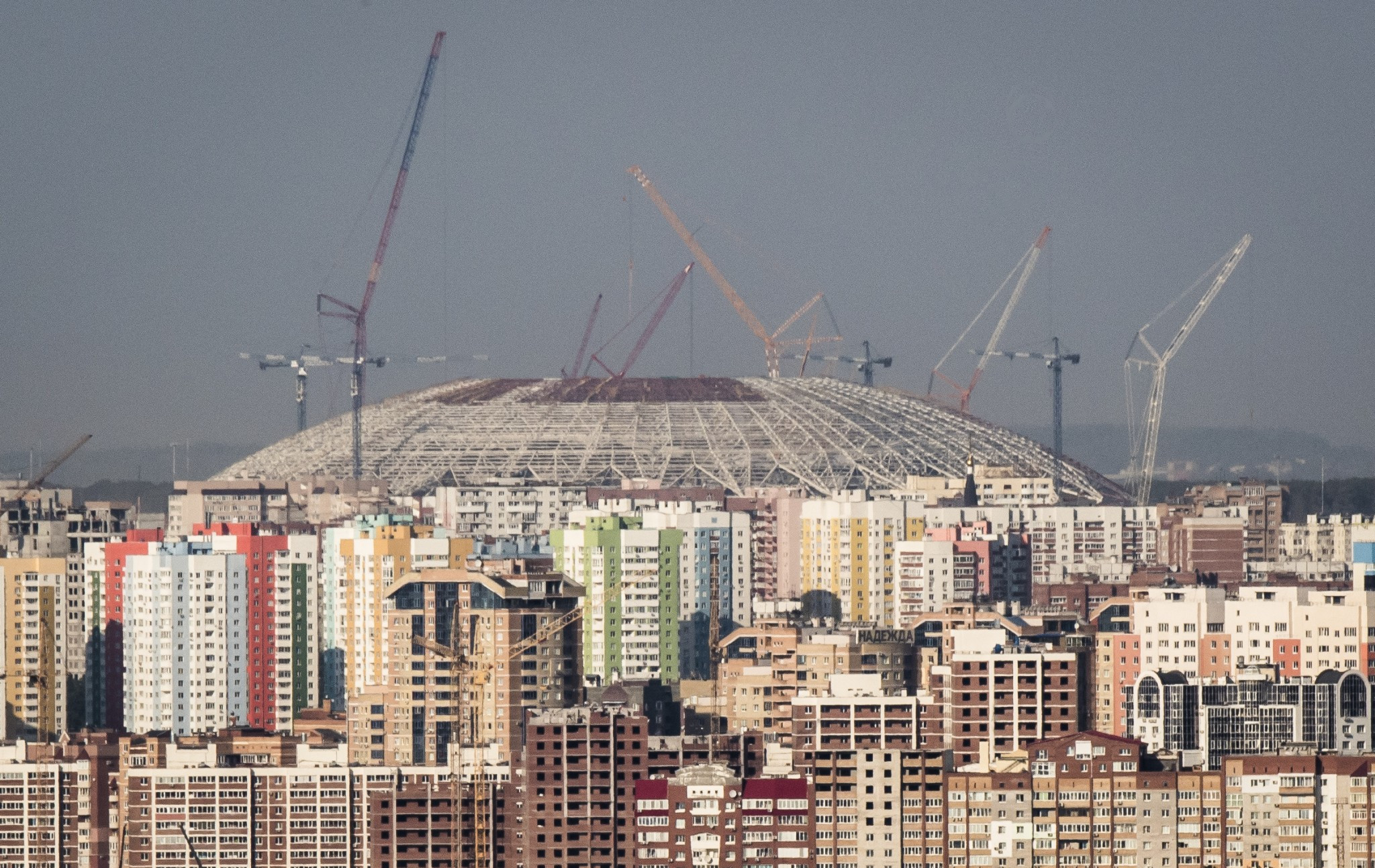 World Cup Stadium in Samara hit by further delays as contractors confirm work 30 days behind schedule