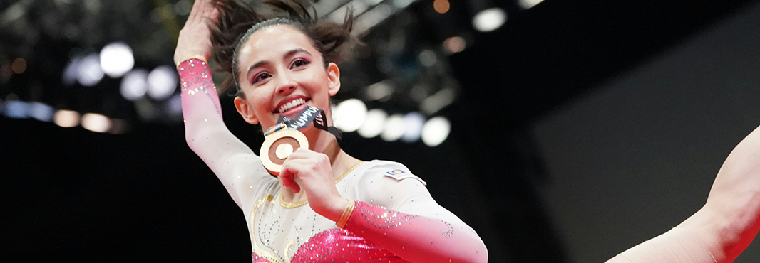 Home star successfully defends gymnastics title at Southeast Asian Games