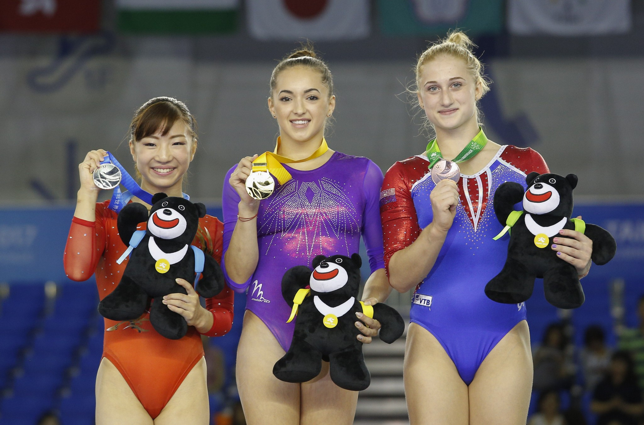 Andreea Reyes ten gymnasts claim gold medals as artistic competition
