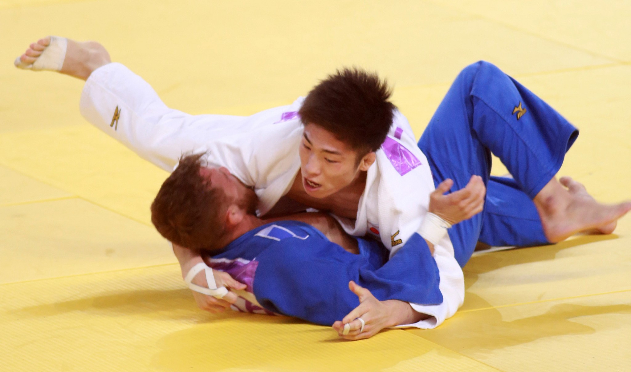 Japan secure all four judo golds on fourth day of competition at Taipei 2017