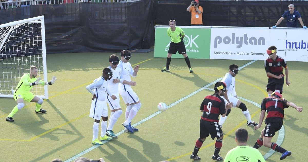 England win to send hosts Germany out at IBSA European Football Championships